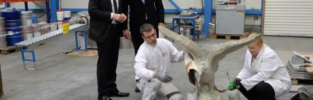 Wirtschaftsminister Duin besucht Zoz im ZTC