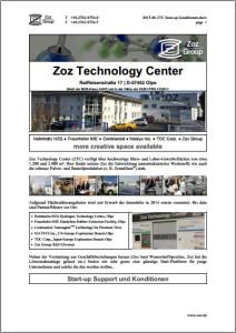 ZTC Start-up Konditionen