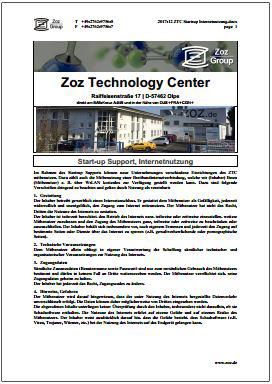 ZTC Start-up FAQ